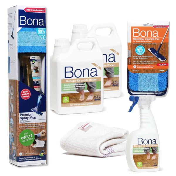 BONA Spray Mop Set geöltes Holz XXL