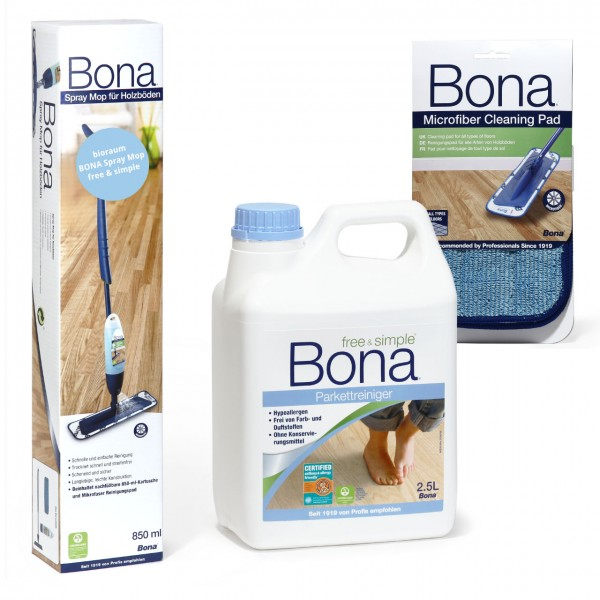 BONA Spray Mop Set free&simple XL