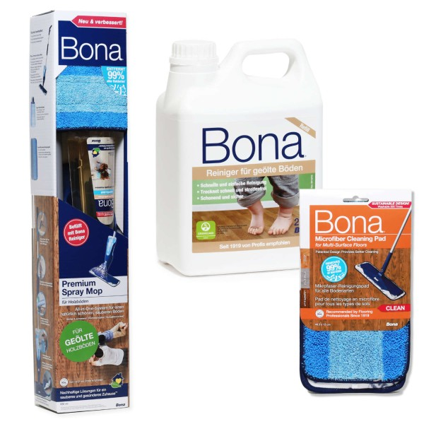 BONA Spray Mop Set geöltes Holz XL