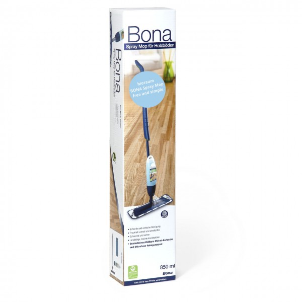 Bona Spray Mop Set free & simple für geöltes Holz
